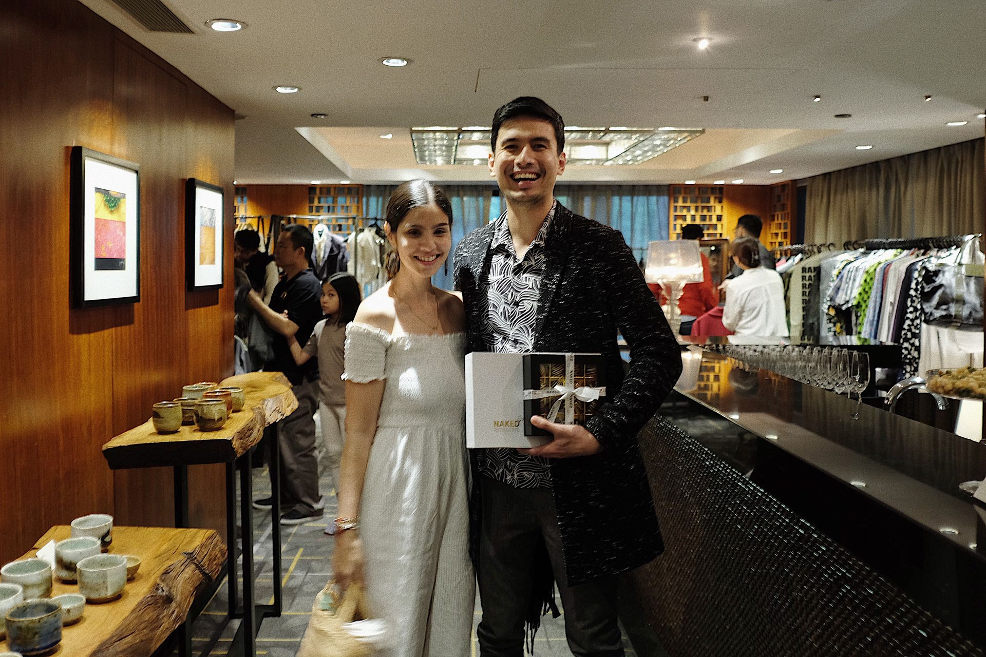 Singer-Actor Christian Bautista with fiancee Kat Ramnani