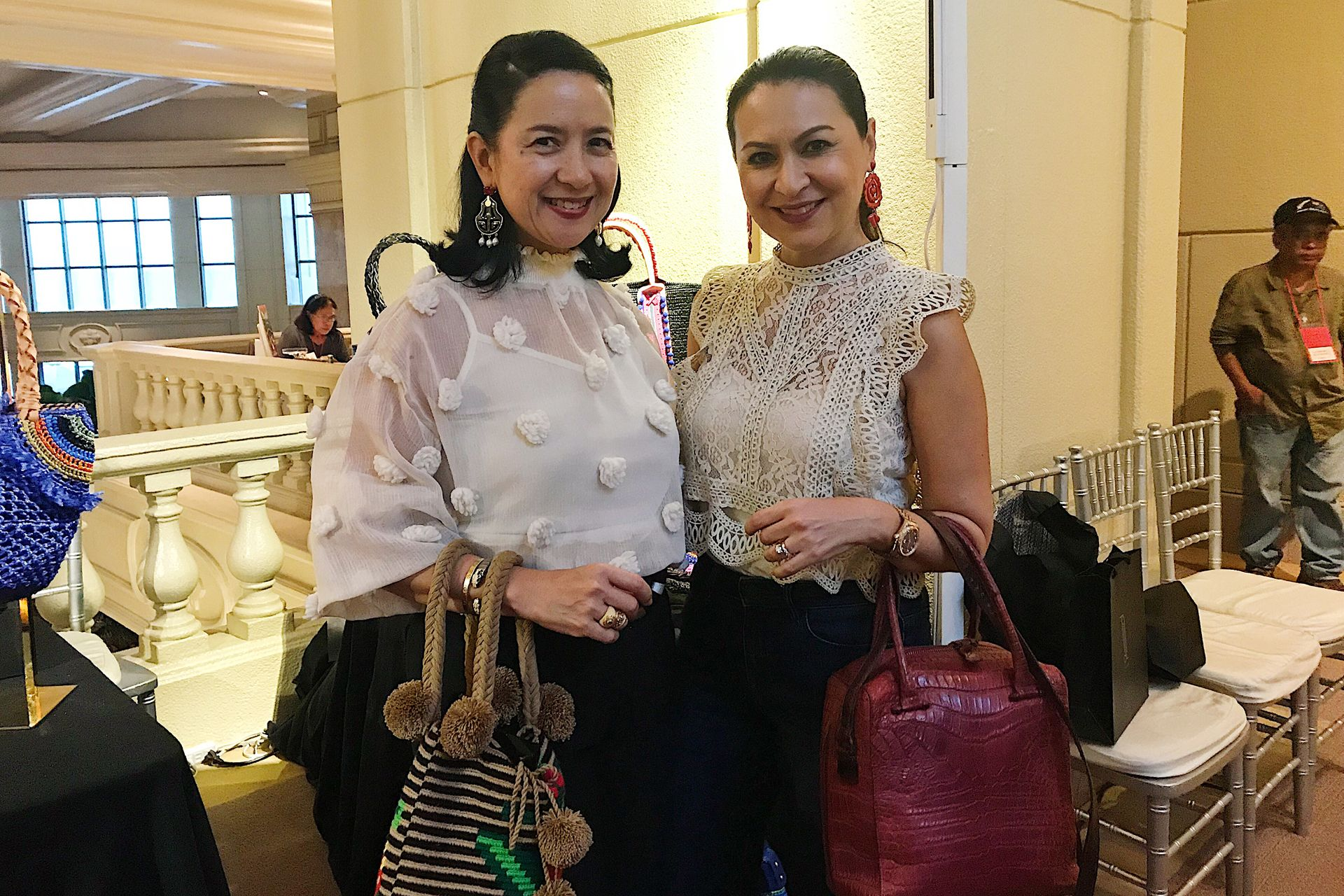 Tatler's Mia Borromeo with Marilu Toda Batchelor