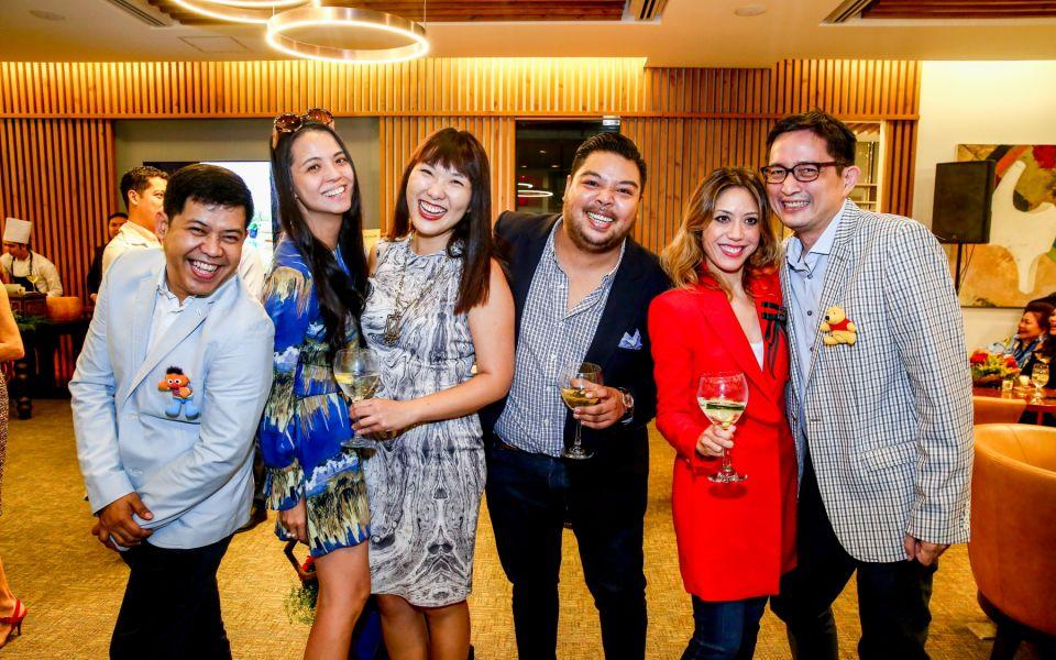 Ronald Mabanag, Ingrid Chua, Lesley Tan, Ramon Bucay, Shauna Popple-Williams, Chris Juan