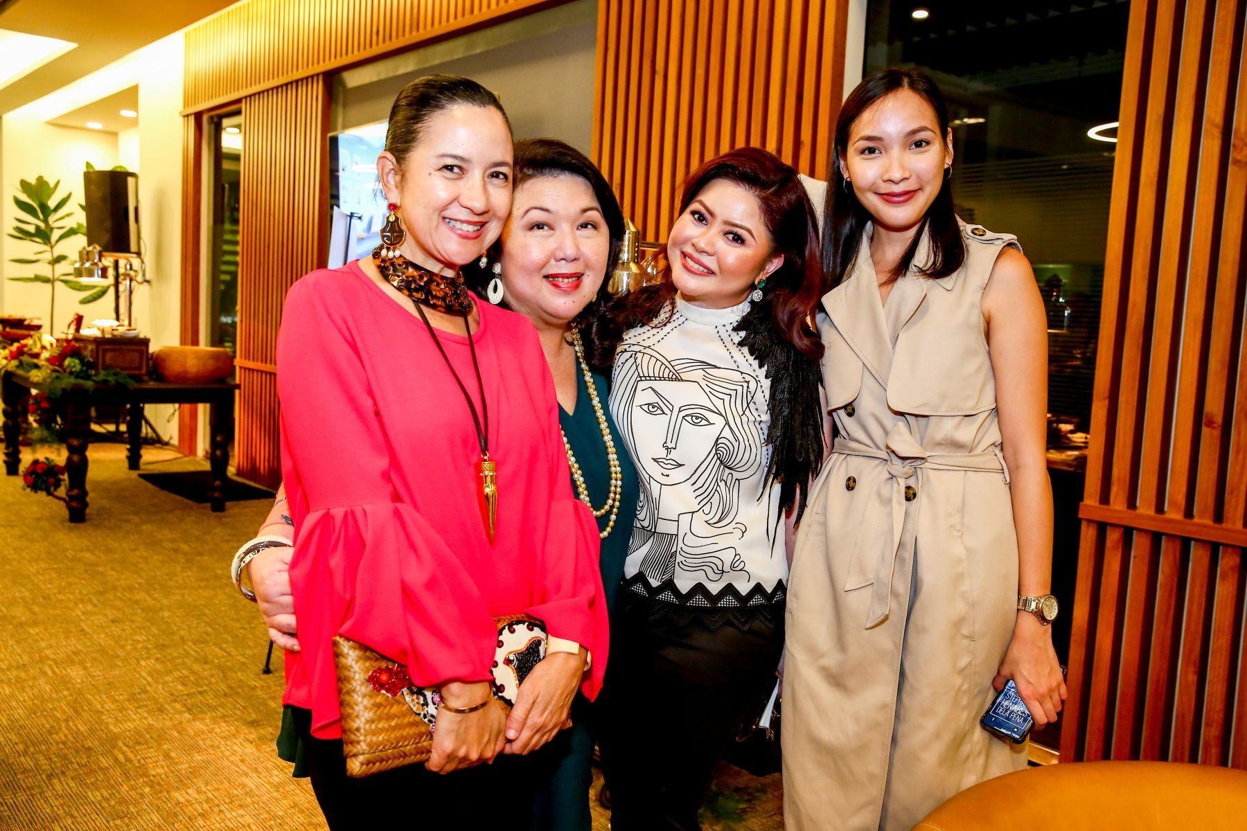 Mia Borromeo, Irene Martel Francisco, Carla Del Prado and Stephanie Henares