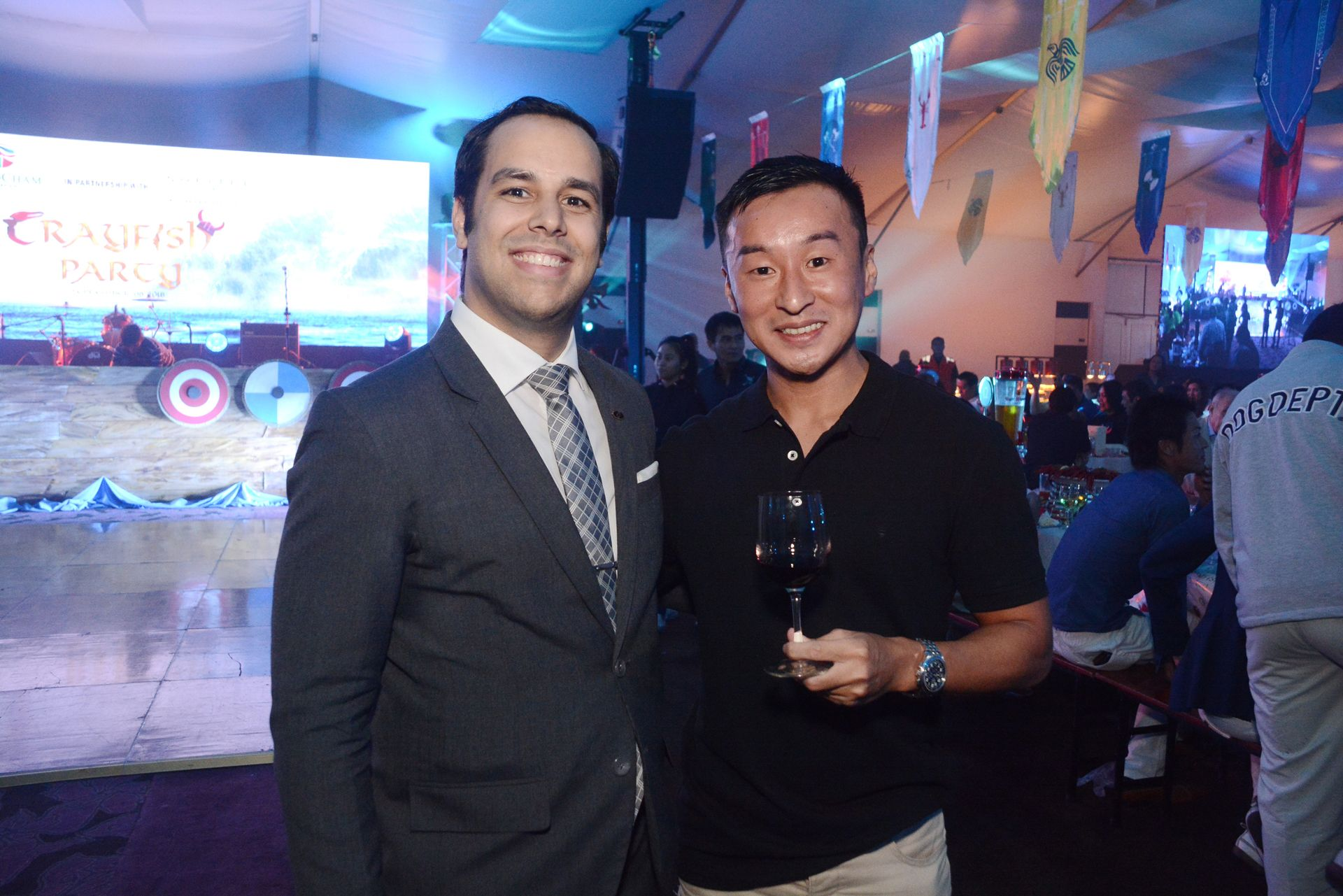 Sofitel Philippine Plaza's Food and Beverage Manager Tanguy Gras and Philippine Plaza Holding's Shunsuke Nakata