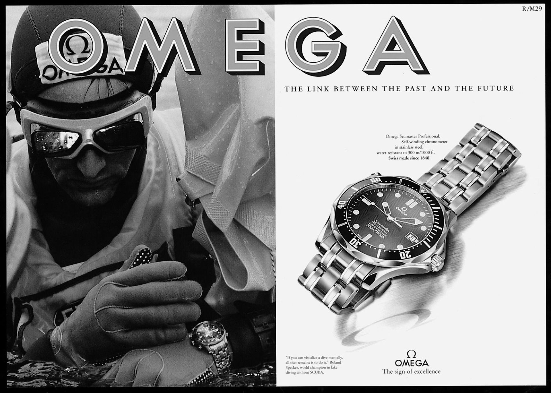 The History Of The Omega Seamaster Diver 300M
