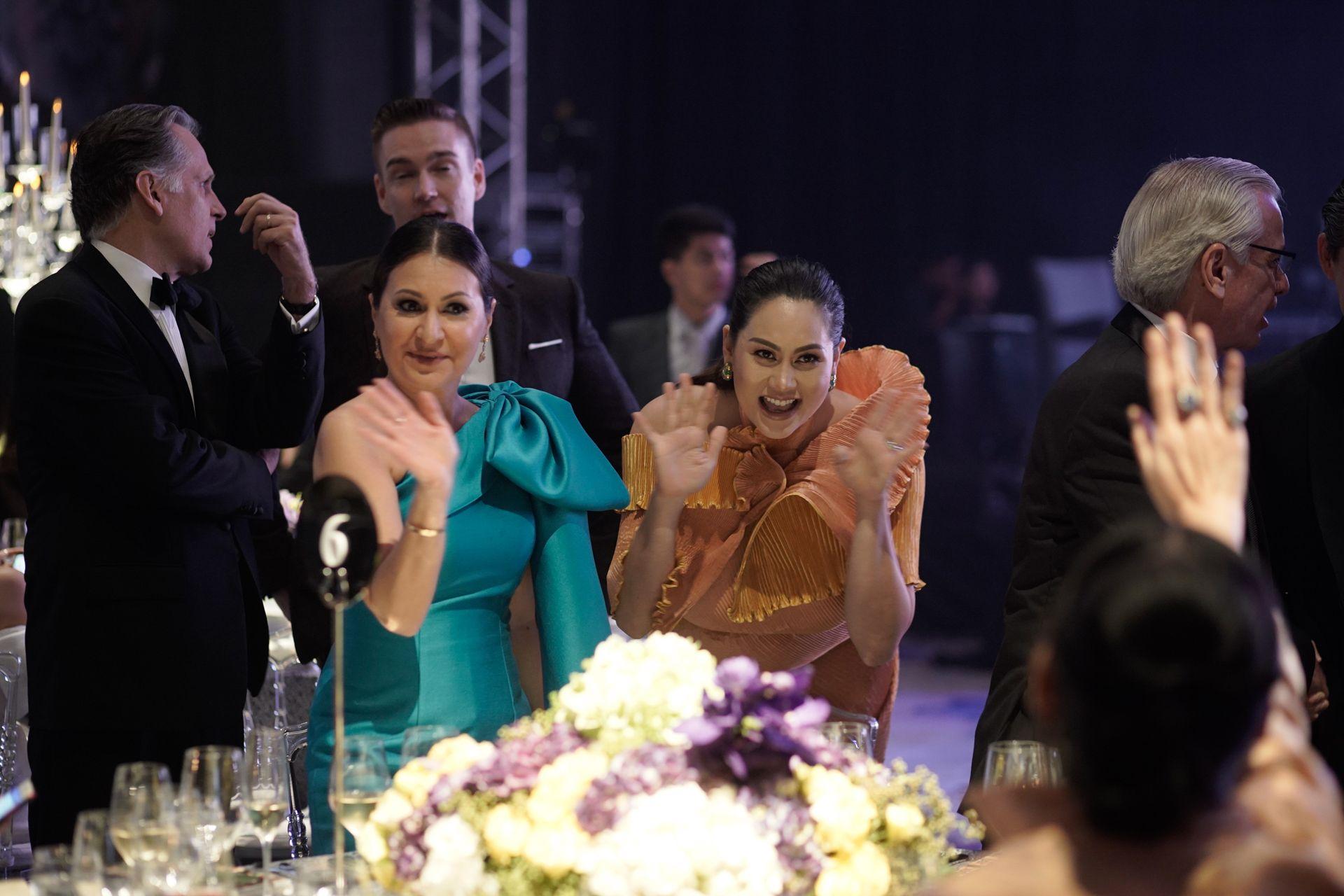 Marilu Batchelor and Cristalle Belo