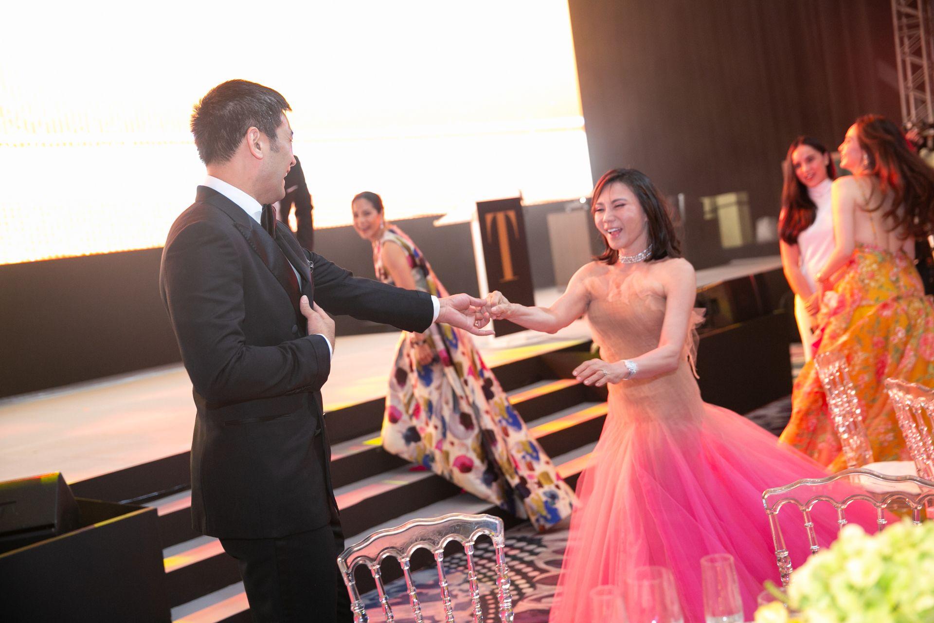 Hayden and Vicky Kho