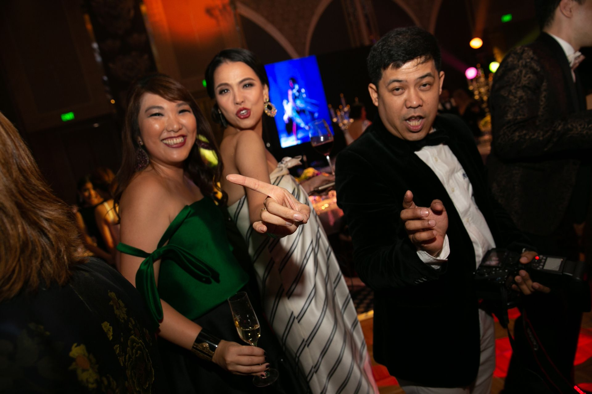 Lesley Anne Tan, Ingrid Chua, and Ron Mabanag
