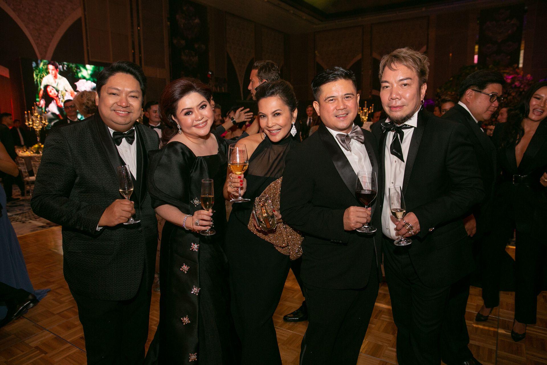 Joel and Carla Del Prado, Charmaine and Mike Lagman and Ian Giron