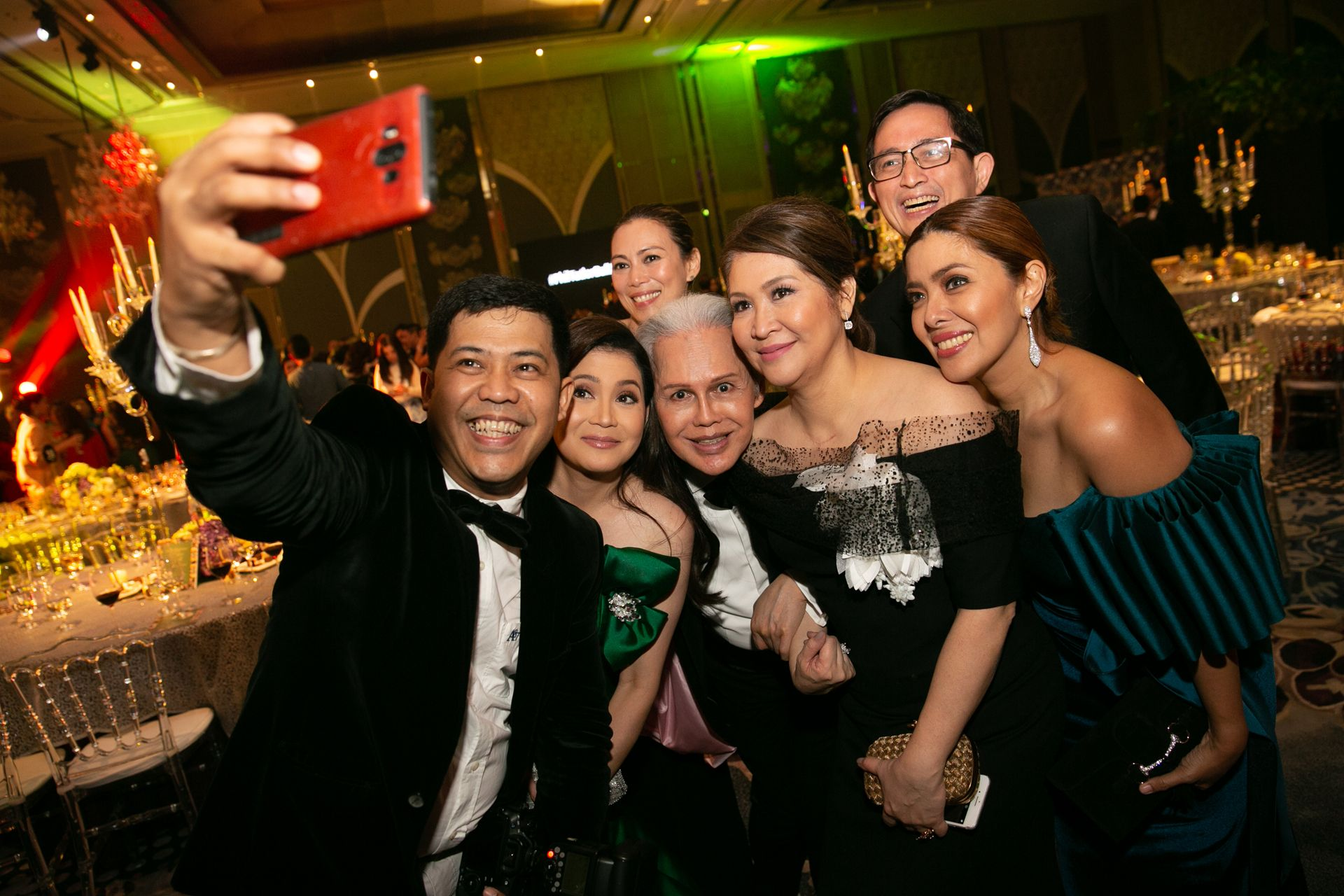 On The Dancefloor At The Philippine Tatler Ball 2018
