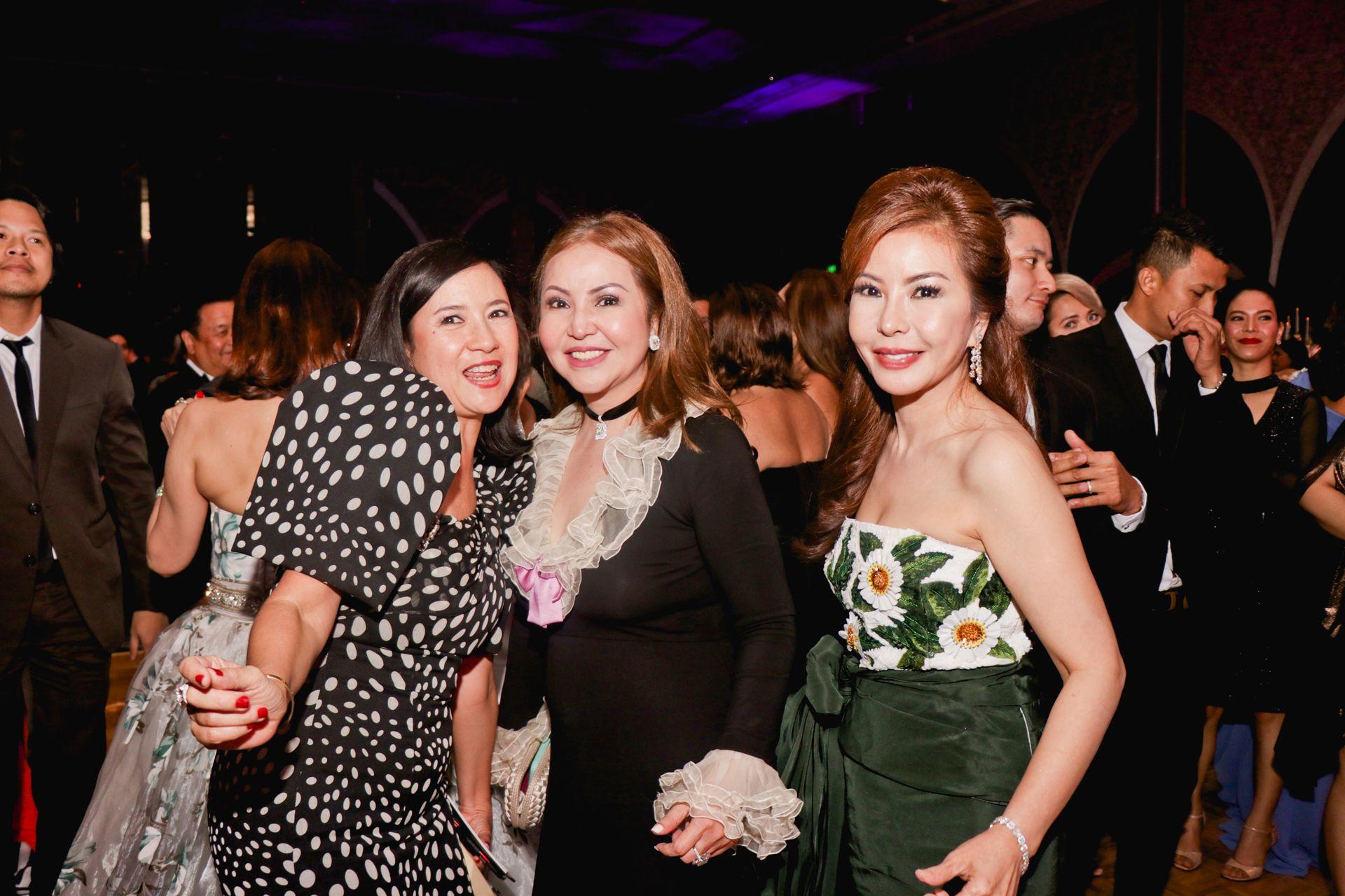 Mia Borromeo, Small Laude and Melba Solidum