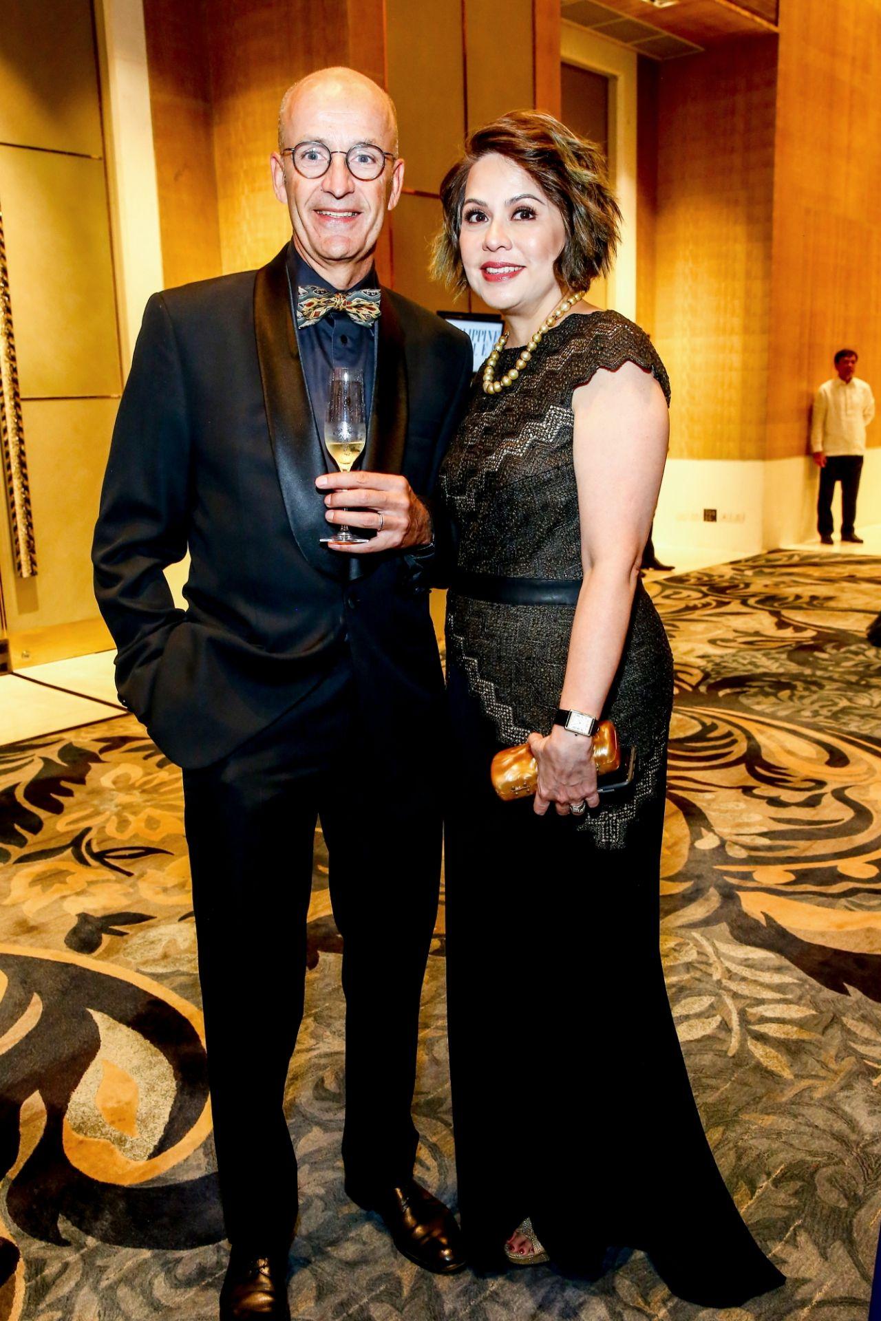 Alain and Carmela Borgers