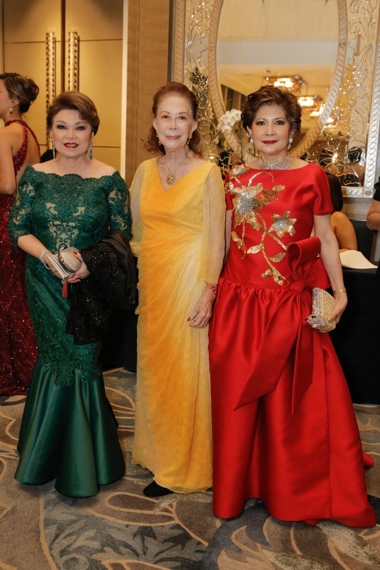 Becky Garcia, Ching Montinola and Criselda Lontok