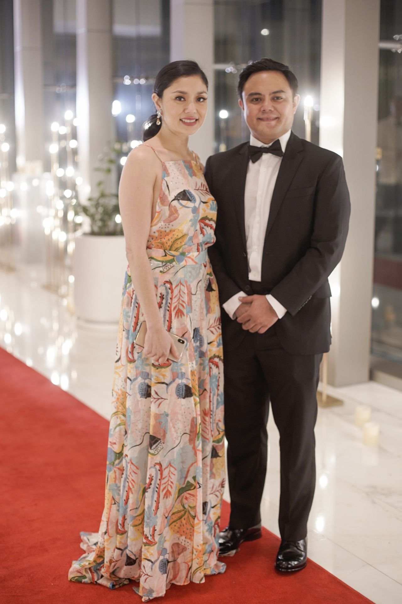 Dina and Paolo Tantoco