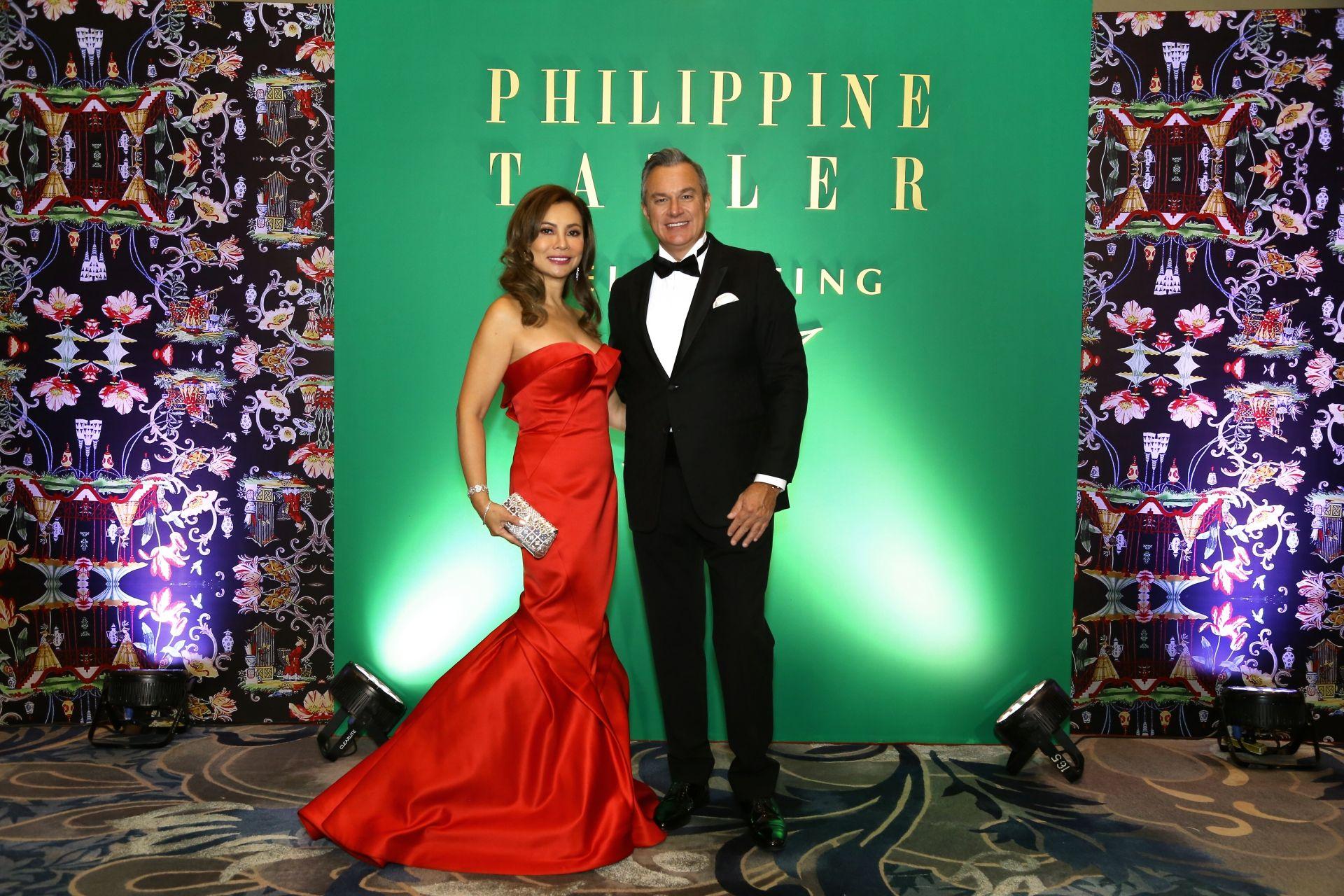 Mela Bengzon and Chris Bonehill