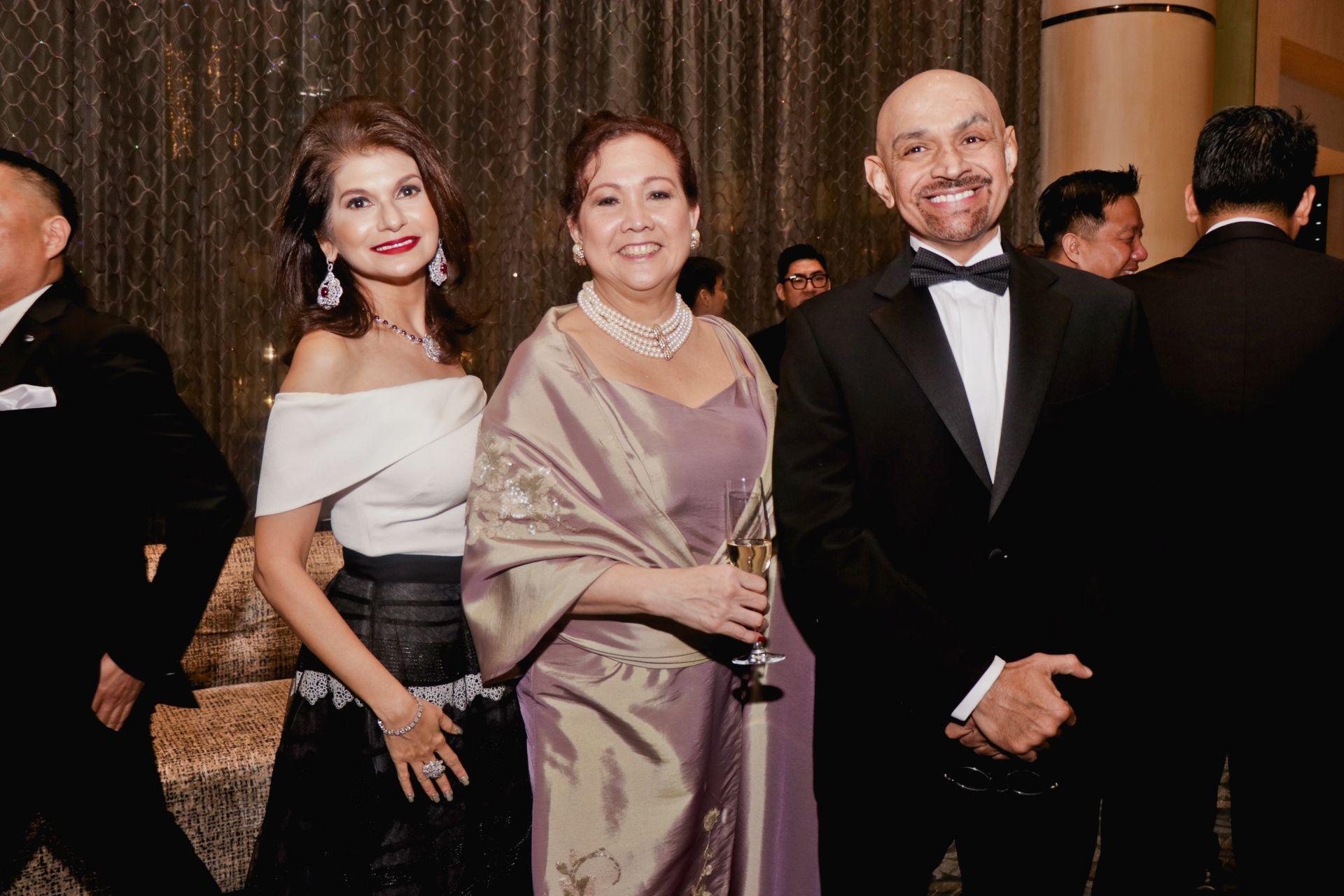 Shirley Daryanani, Carla Ramsey and Ravi Daryanani