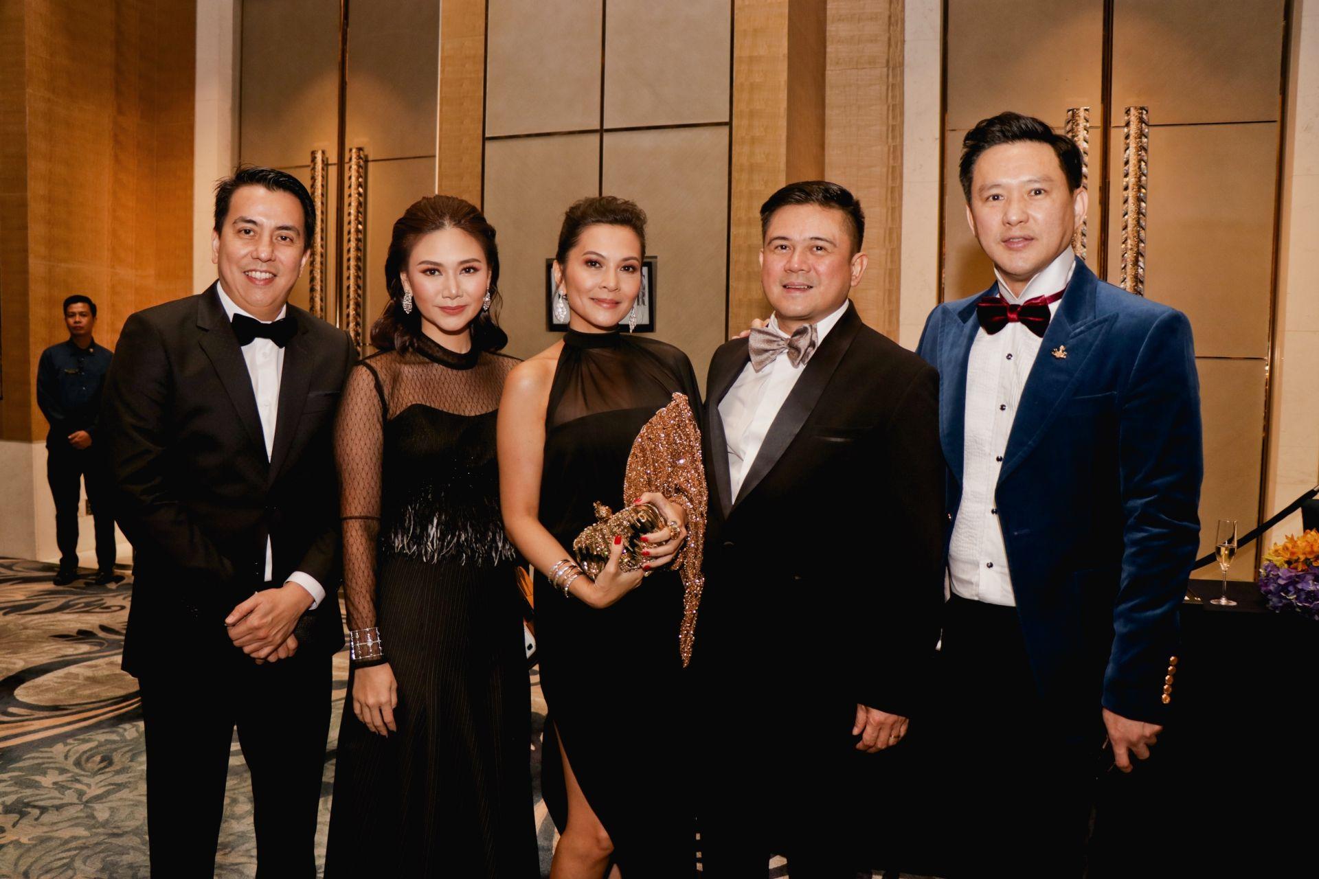 Brian and Kai Lim, Mike and Charmaine Lagman