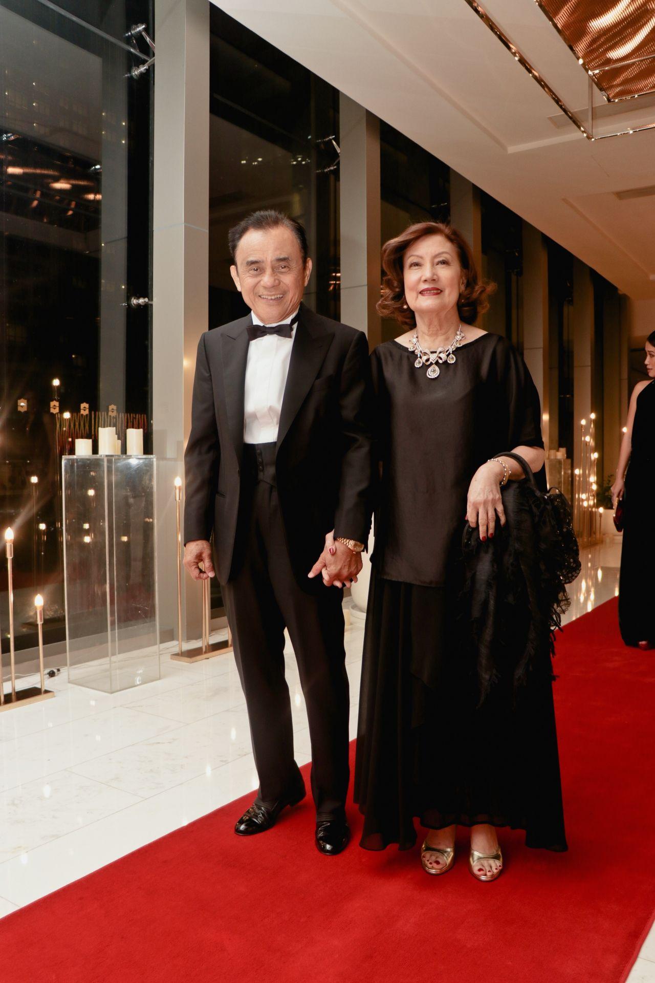 Rico and Nena Tantoco