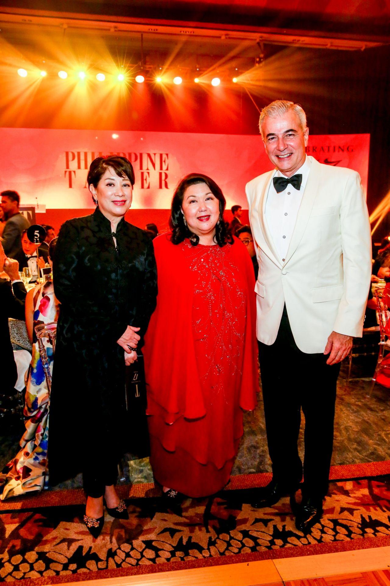 Doris Magsaysay Ho, Irene Martel Francisco, Fernando Zobel