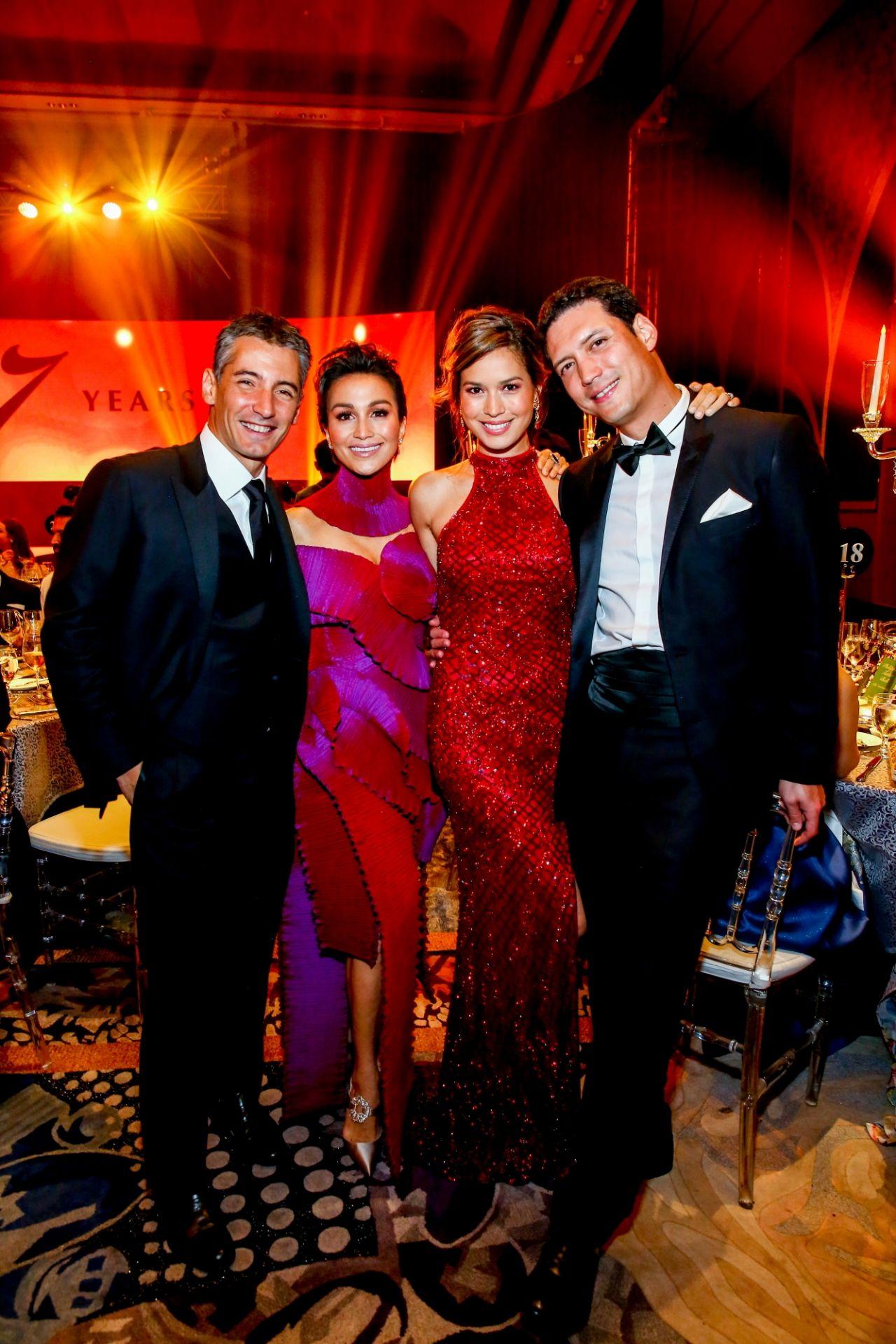 Christian and Stephanie Gonzalez, Jessica and Jesse Maxwell
