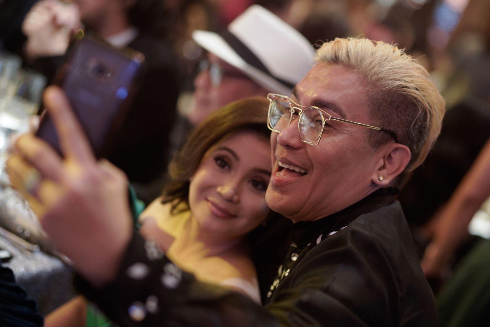 Berna Romulo Puyat and Jojie Dingcong