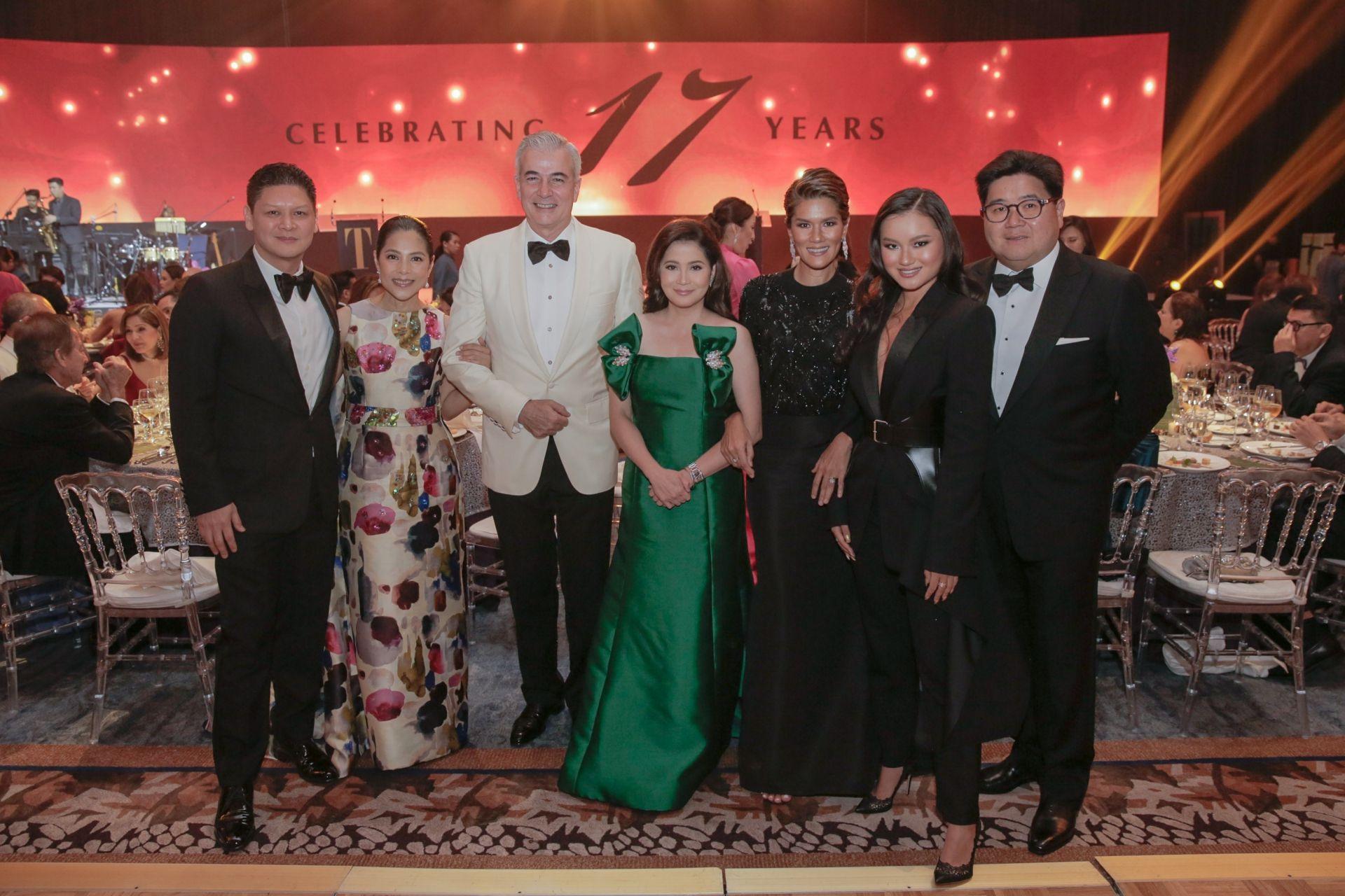 Anton San Diego, Kit Zobel, Fernando Zobel, Berna Romulo Puyat, Nina Huang, Nikki Huang, Anton Huang