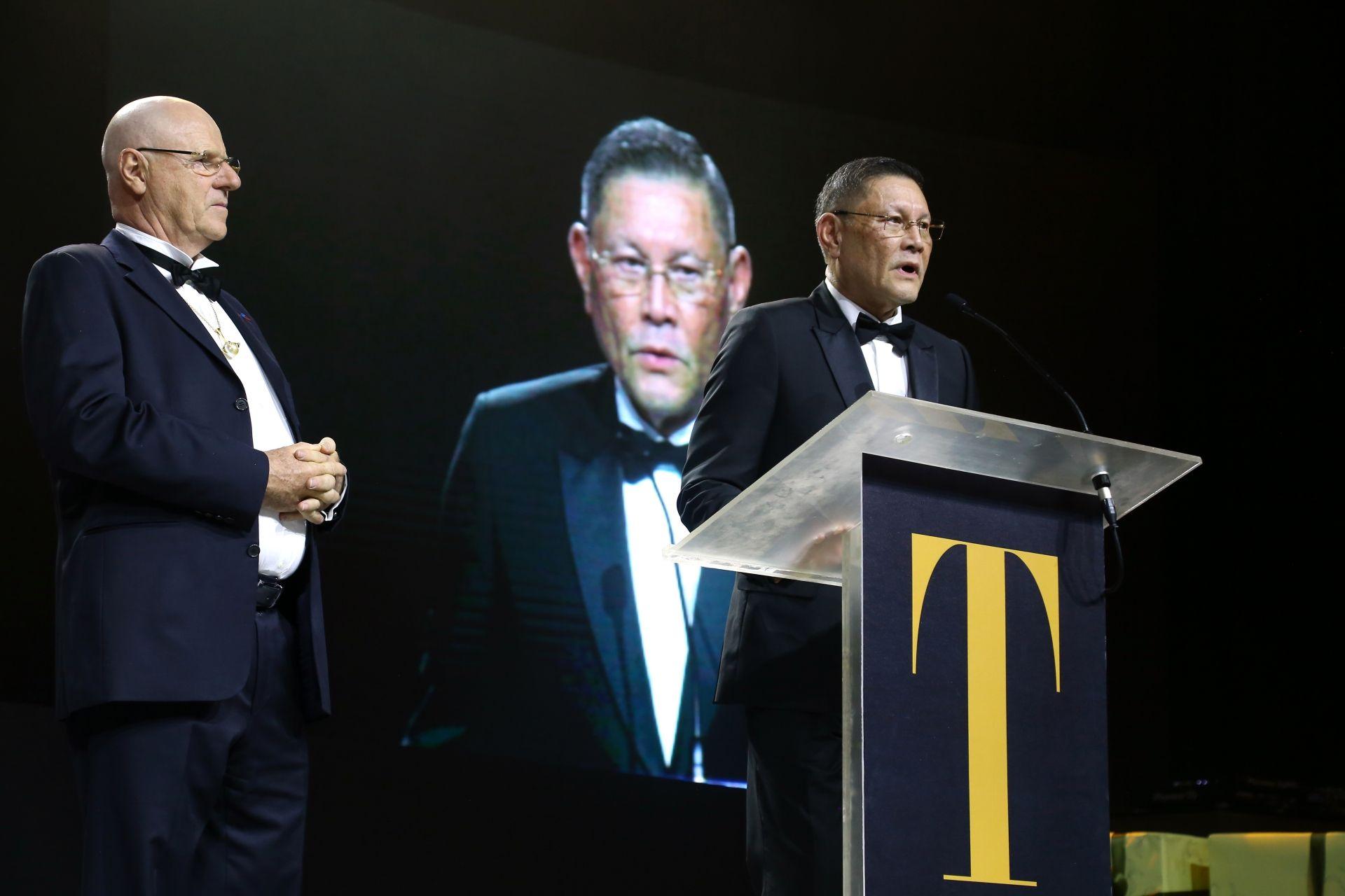 Manuel Cojuanco shares a touching speech