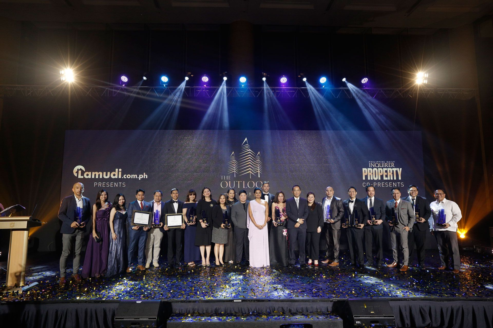 Top Real Estate awarded at The Outlook 2018 Awards Gala