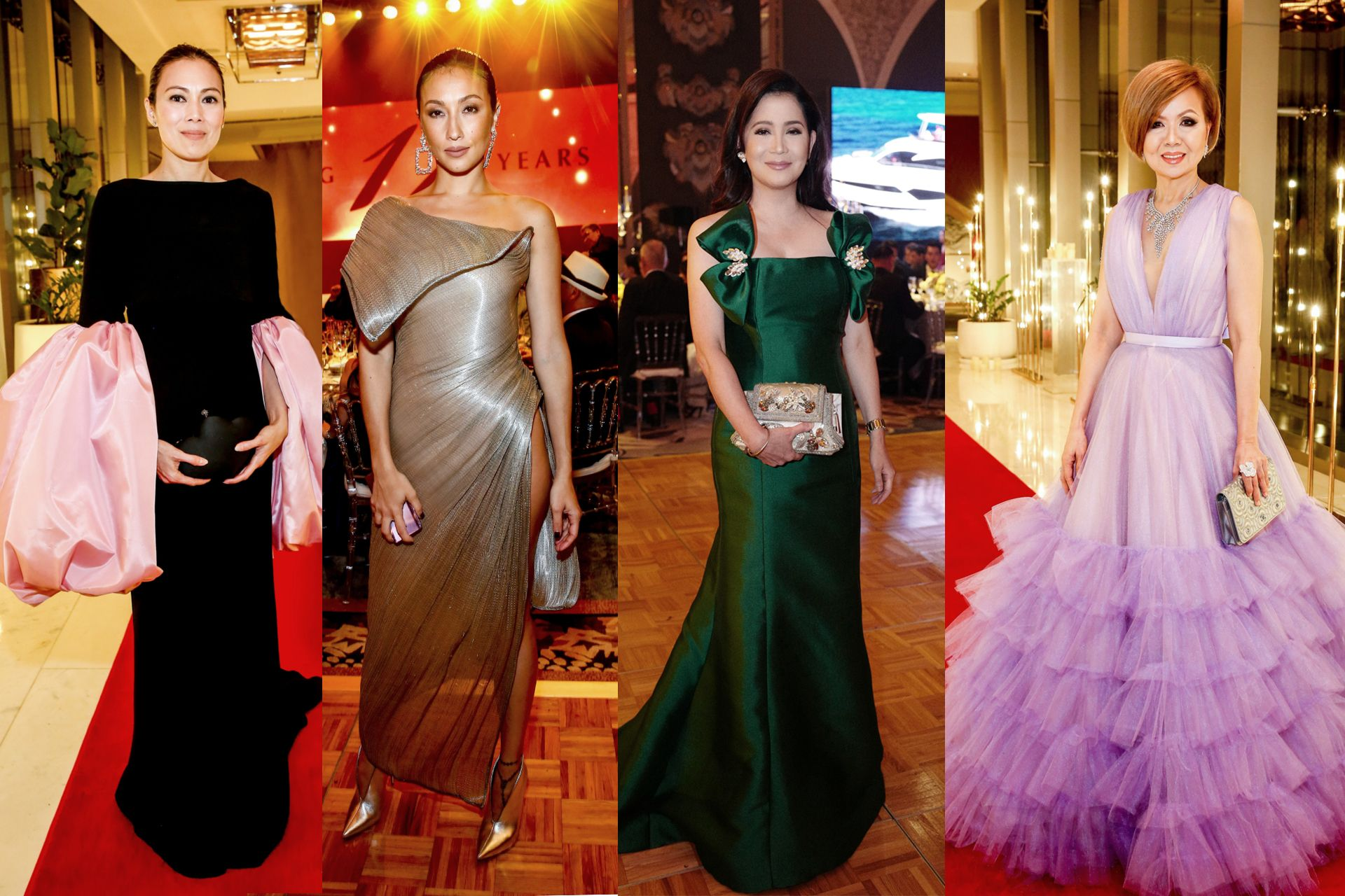 Head-Turning Looks By Top Designers At The 2018 Philippine Tatler Ball