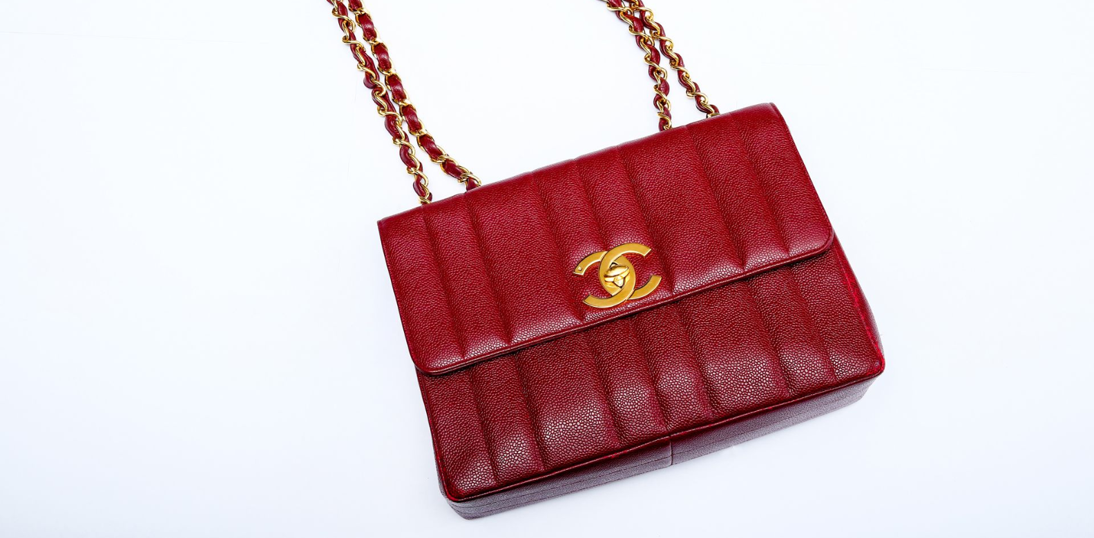 """A vintage bag such as this classic Chanel has a distinct character with its own little history. In addition, I find that most pieces in the past have better craftsmanship"""