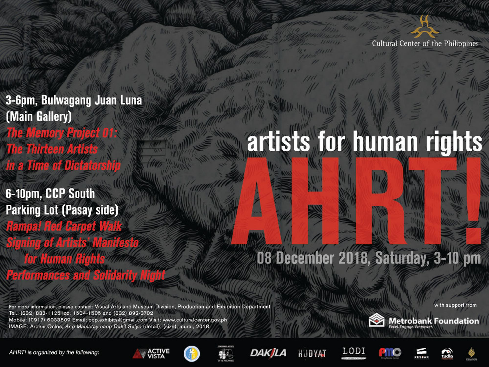 Artists Convene to Pledge Support for Human Rights 2018