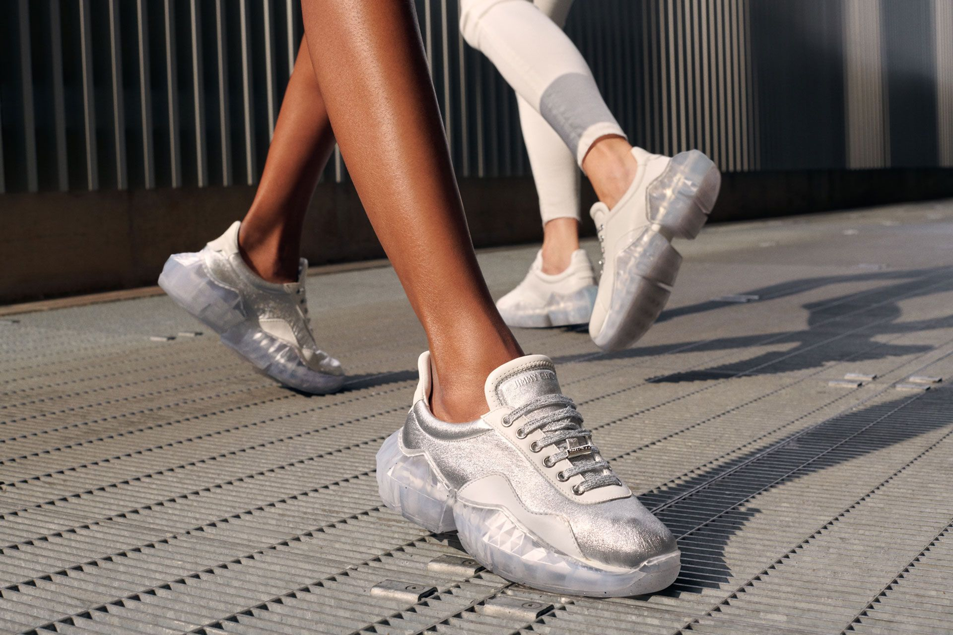 Jimmy Choo Launches The Diamond Sneaker