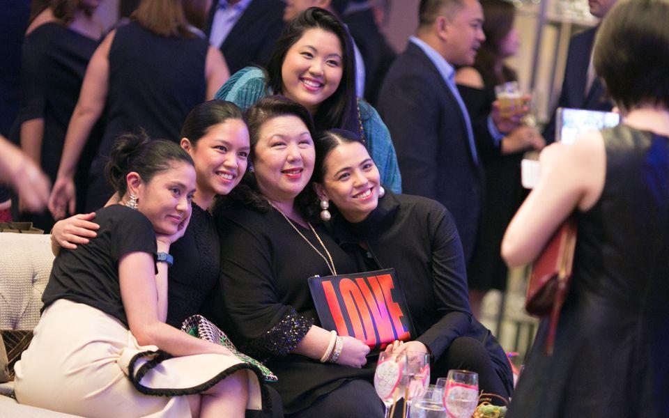Dina Tantoco, Nikki Martel, Irene Martel Francisco, Isabel Francisco & Ingrid Chua