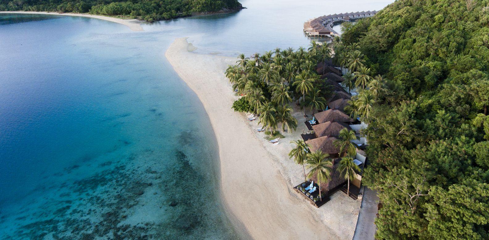 T Huma Island Resort Spa Palawan Philippine