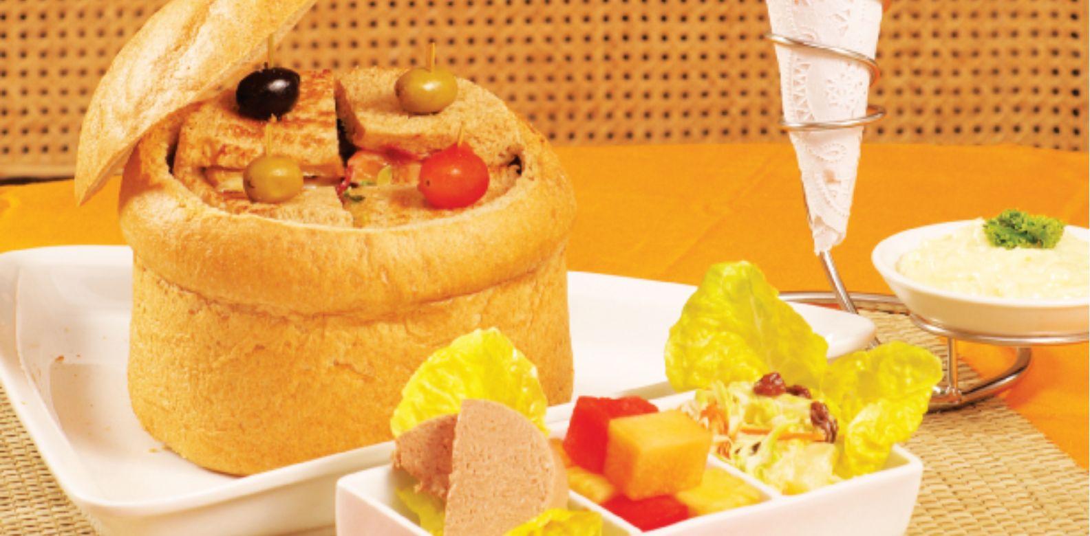 The Manila Hotel club sandwich