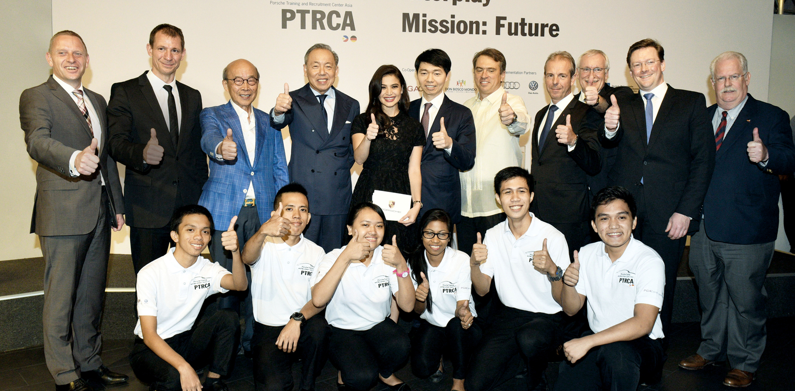 Career In Cars Ptrca 2 0 Launching Event Porsche Centre Philippines Philippine Tatler