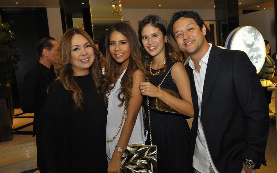 Iris Arcenas, Mia Arcenas, and Martin de Guzman