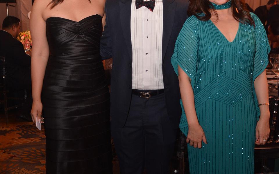 Neelam Gopwani, Paj Rodriguez, and Lynne Palma