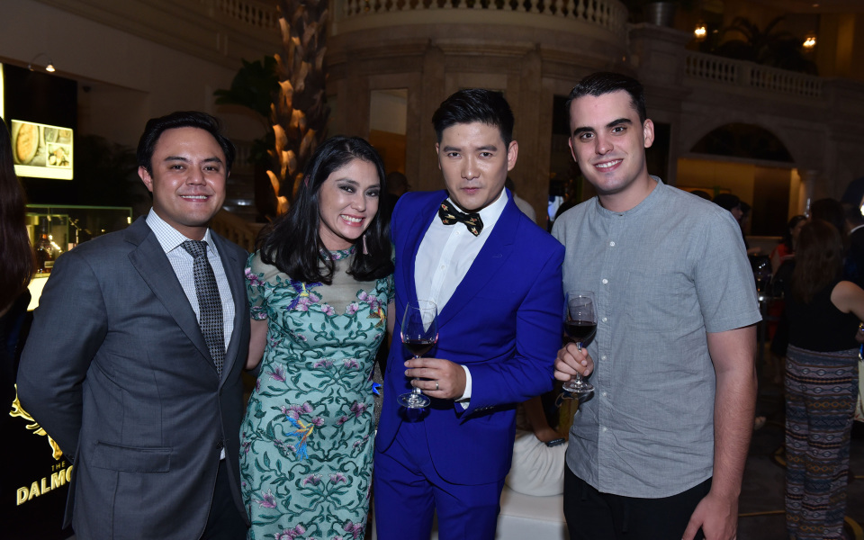 Paolo and Dina Tantoco, Tim Yap and Javi Martinez