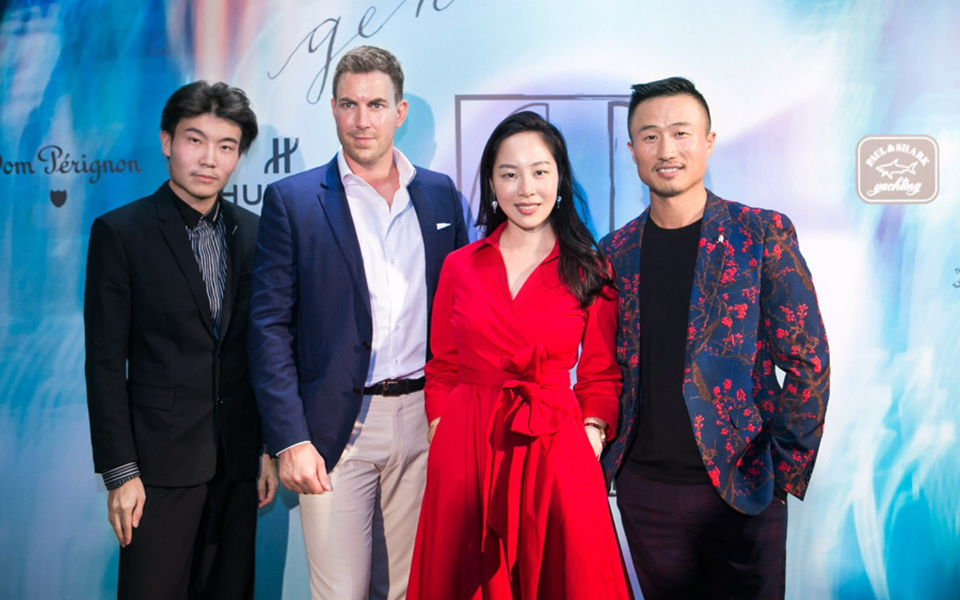 Beijing: Gen.T lister Huang Xufu, co-founder of M Woods art museum, with Michel Lamunière, chairman and CEO of Edipresse Media Asia, and fellow 2017 listers Sara Jane Ho, founder of etiquette school Institute Sarita, and F-Space co-founder Sun Zijie.