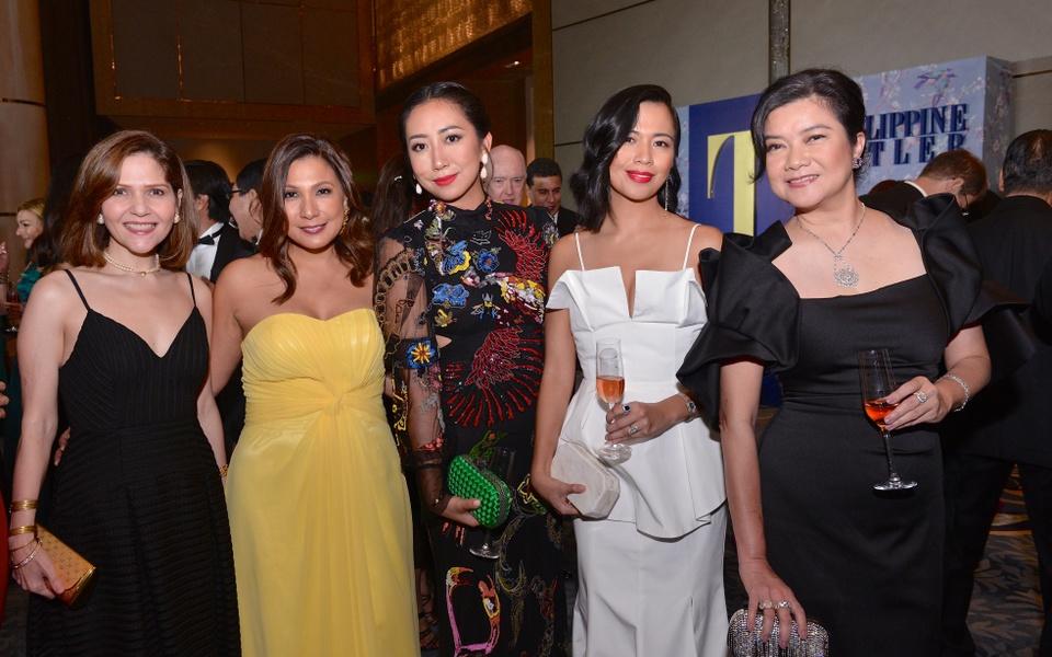 Anne Marie Saguil, Julie Boschi, Pie Alvarez, Macky Fah and Myla Villanueva