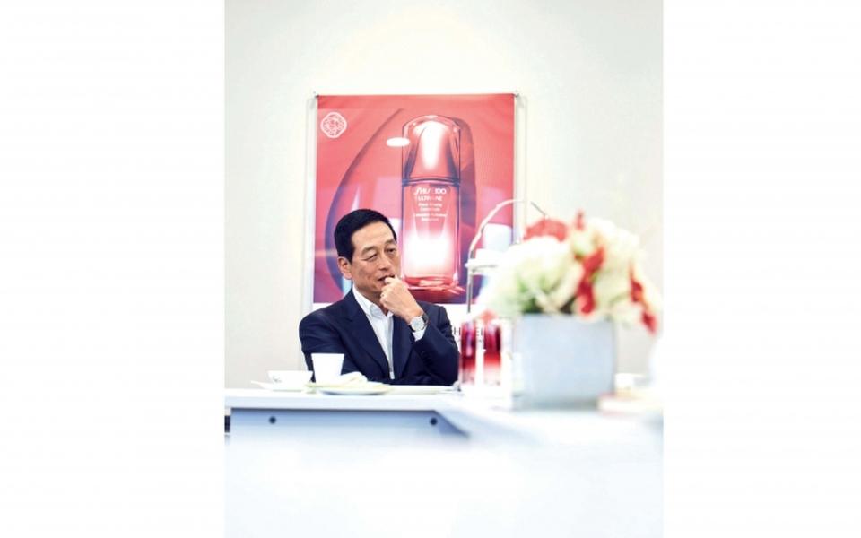 5 minutes with president and ceo of shiseido masahiko uotani philippine tatler - Shiseido singapore office ...
