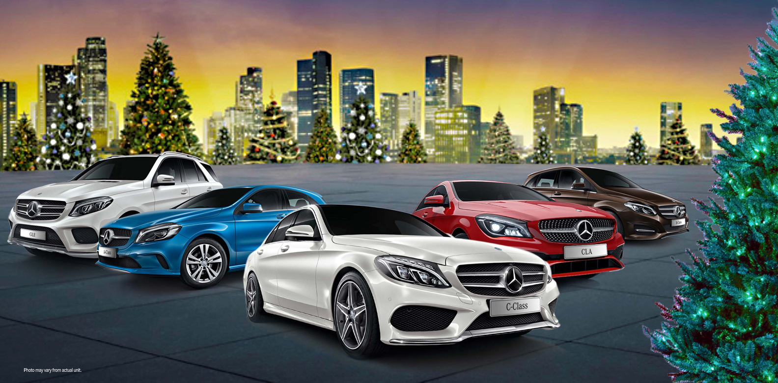 Mercedes benz holiday offers philippine tatler for Mercedes benz offers