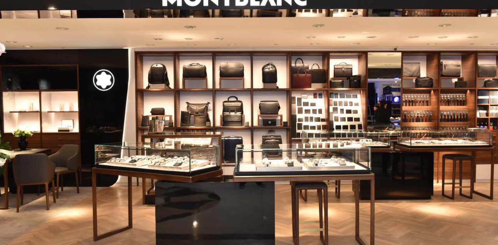 montblanc unveils new store concept philippine tatler. Black Bedroom Furniture Sets. Home Design Ideas