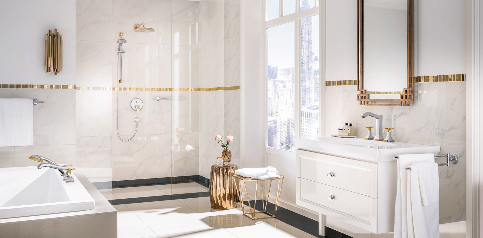 Hansgrohe\'s Metropol Classic Highlights Elegance with Gold ...