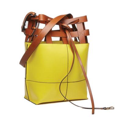 SG Tatler Fashion Drops - Loewe T Bucket Bag