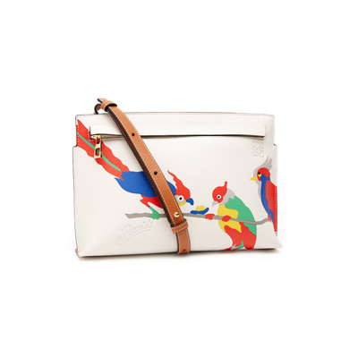 SG Tatler Fashion Drops - Loewe Paula's ibiza Mini Bag Parrot