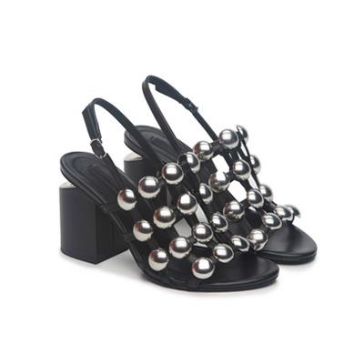 SG Tatler Fashion Drops - Pedder On Scotts Alexander Wang Mid Heel Sandal with Studs