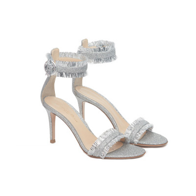 SG Tatler Fashion Drops - Pedder On Scotts Gianvito Rossi Tassel Glitter Sandal