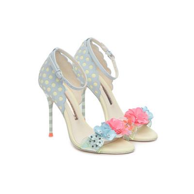 SG Tatler Fashion Drops - Pedder On Scotts Sophia Webster Lilico Sequin Floral Sandal