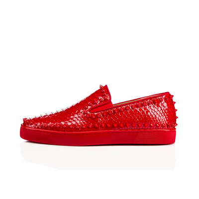 SG Tatler Fashion Drops - Christian Louboutin Pik Boat Men's Flat Rougissime