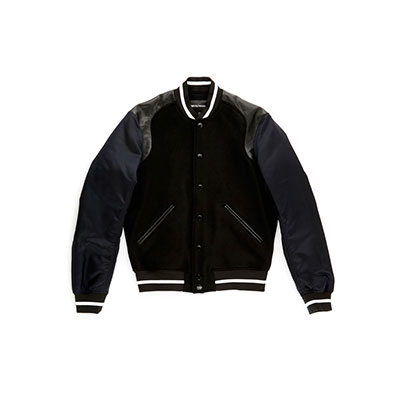 SG Tatler Fashion Drops - Emporio Armani Baseball Jacket