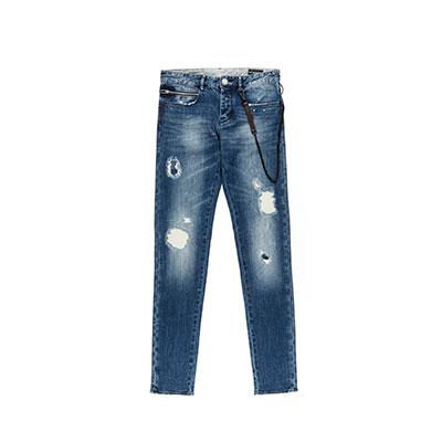 SG Tatler Fashion Drops - Emporio Armani Distressed Denim Jeans